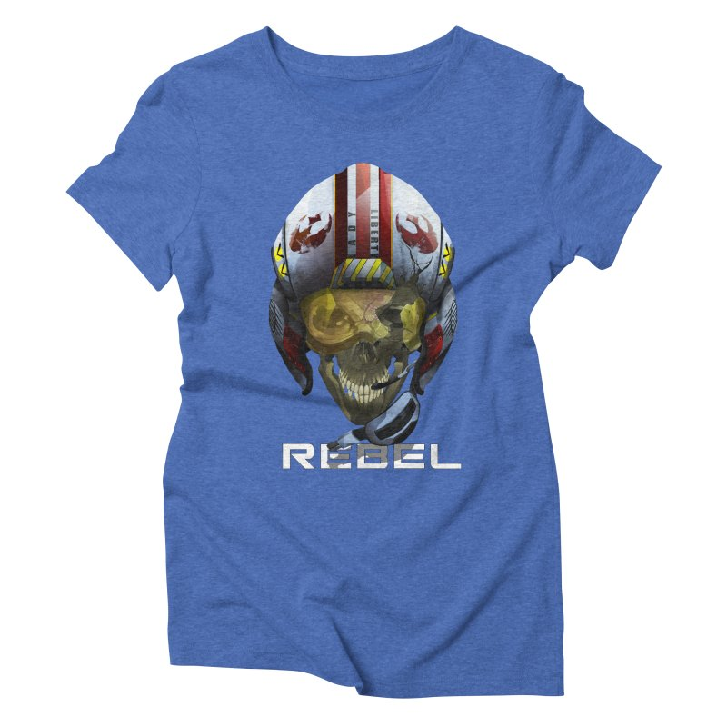 REBEL Women's Triblend T-Shirt by FunctionalFantasy Artist Shop