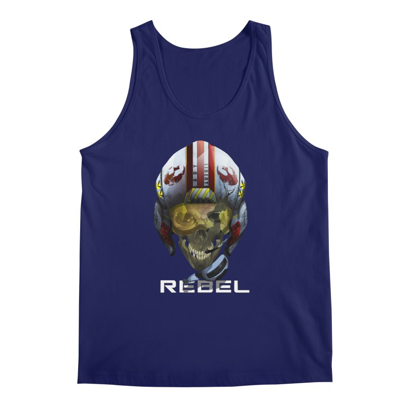 REBEL Men's Regular Tank by FunctionalFantasy Artist Shop
