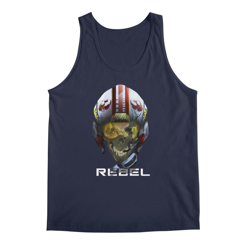 REBEL Men's Regular Tank by FunctionalFantasy Artist Shop