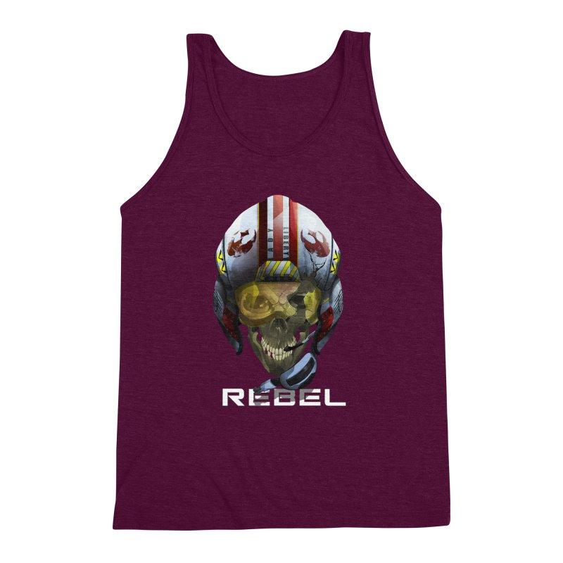 REBEL Men's Triblend Tank by FunctionalFantasy Artist Shop