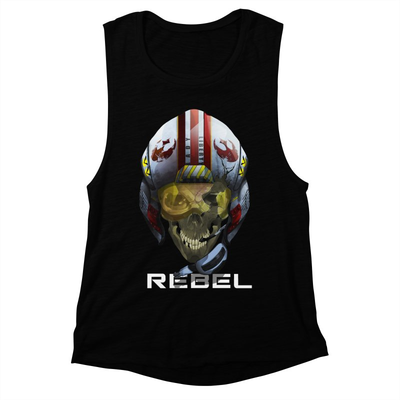 REBEL Women's Muscle Tank by FunctionalFantasy Artist Shop