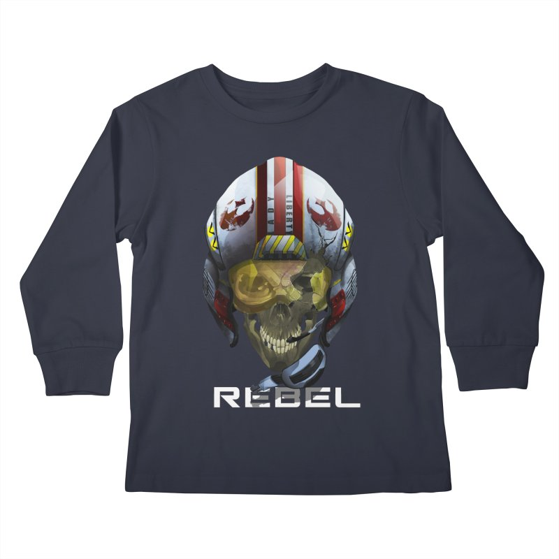 REBEL Kids Longsleeve T-Shirt by FunctionalFantasy Artist Shop