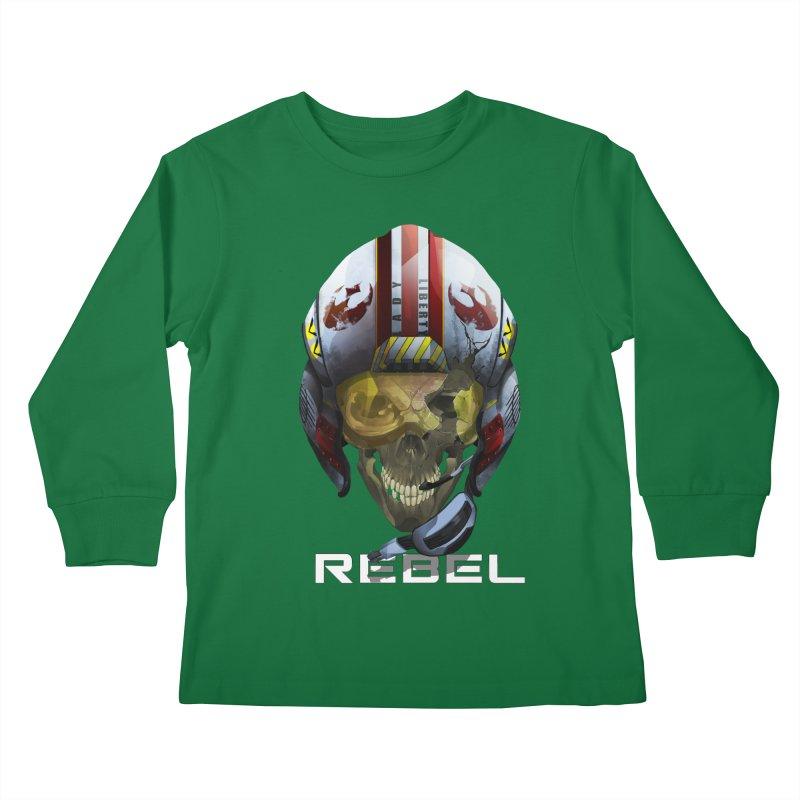 REBEL Kids Longsleeve T-Shirt by FunctionalFantasy Artist Shop