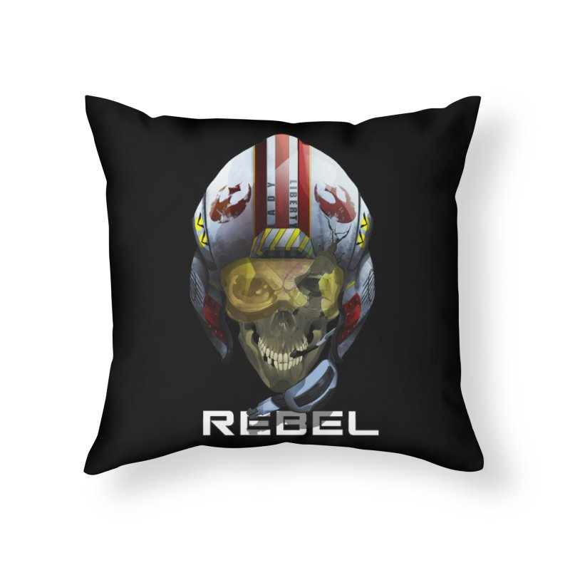 REBEL Home Throw Pillow by FunctionalFantasy Artist Shop