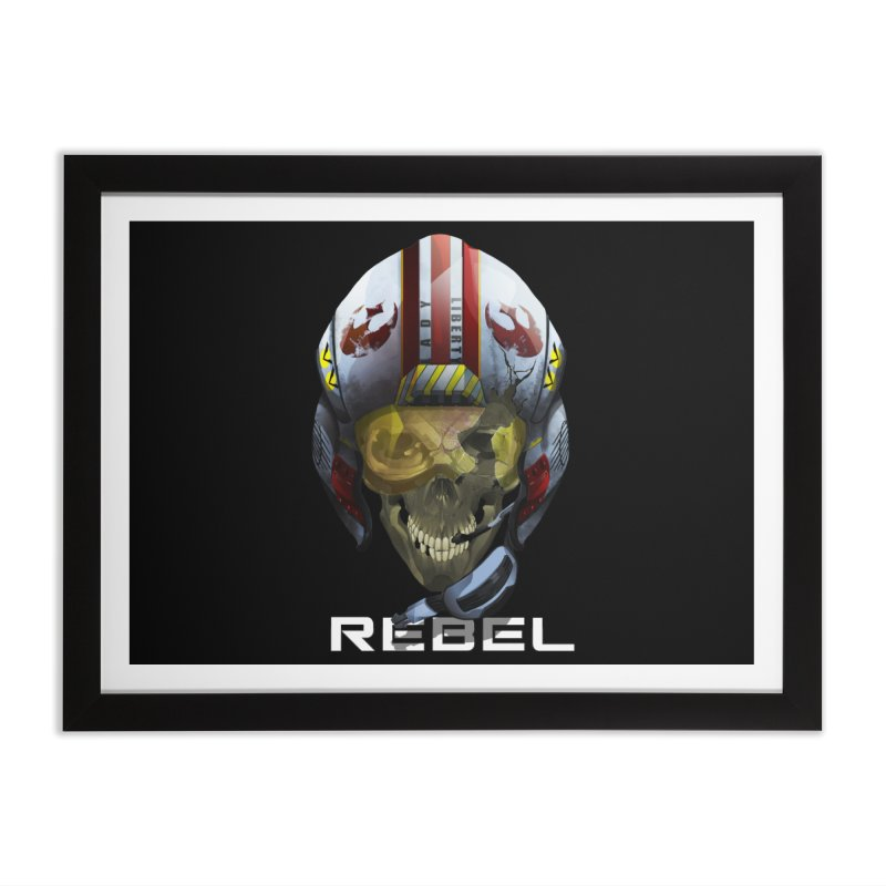 REBEL Home Framed Fine Art Print by FunctionalFantasy Artist Shop