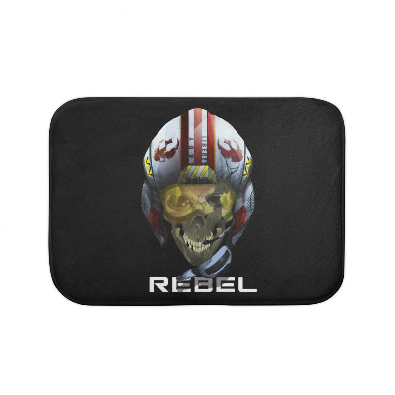 REBEL Home Bath Mat by FunctionalFantasy Artist Shop