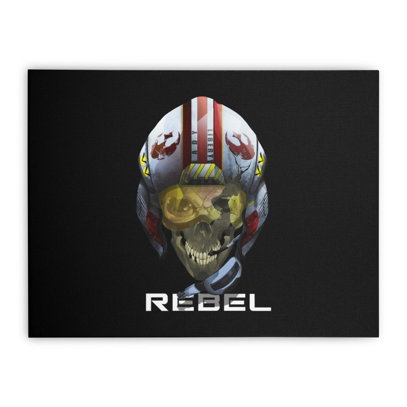 REBEL Home Stretched Canvas by FunctionalFantasy Artist Shop