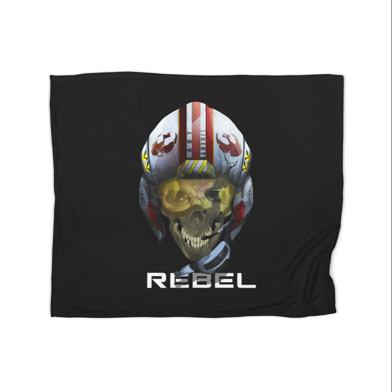 REBEL Home Fleece Blanket Blanket by FunctionalFantasy Artist Shop