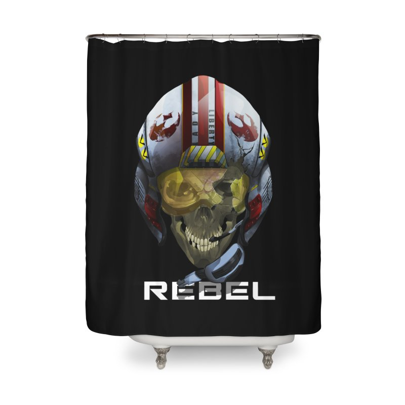 REBEL Home Shower Curtain by FunctionalFantasy Artist Shop