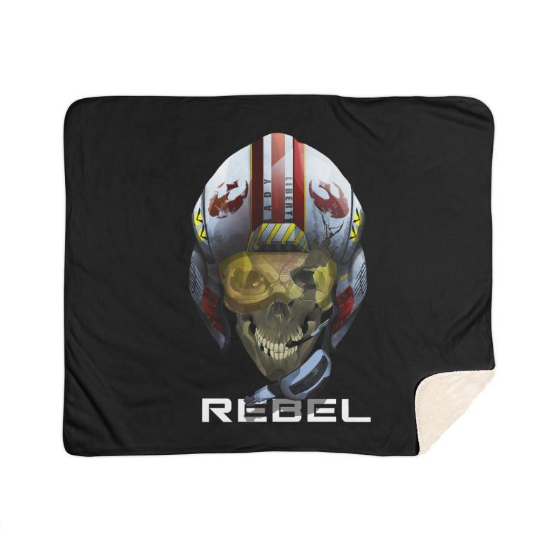 REBEL Home Sherpa Blanket Blanket by FunctionalFantasy Artist Shop