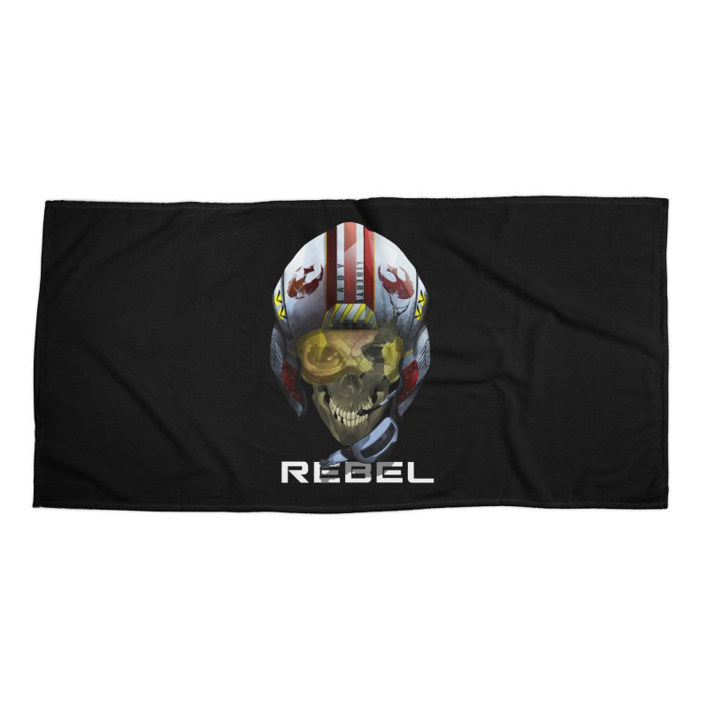 REBEL Accessories Beach Towel by FunctionalFantasy Artist Shop