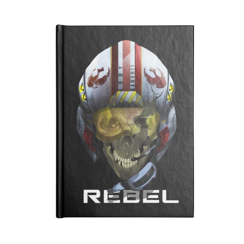 REBEL Accessories Blank Journal Notebook by FunctionalFantasy Artist Shop