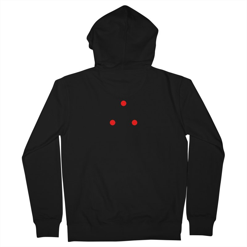 Dot Dot Dot Men's French Terry Zip-Up Hoody by FunctionalFantasy Artist Shop