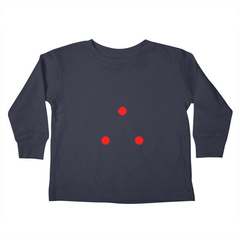 Dot Dot Dot Kids Toddler Longsleeve T-Shirt by FunctionalFantasy Artist Shop