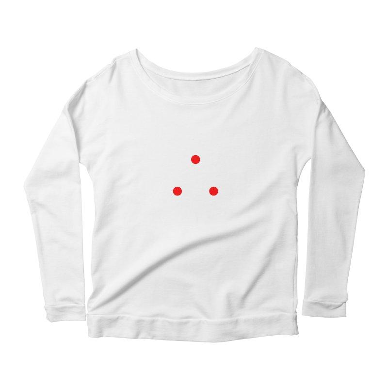 Dot Dot Dot Women's Scoop Neck Longsleeve T-Shirt by FunctionalFantasy Artist Shop