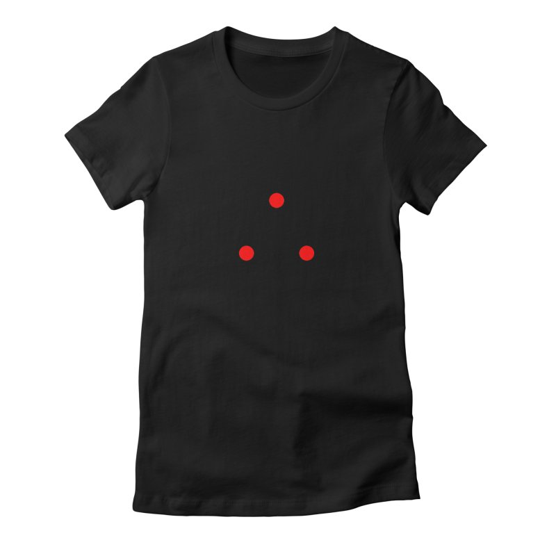 Dot Dot Dot Women's Fitted T-Shirt by FunctionalFantasy Artist Shop
