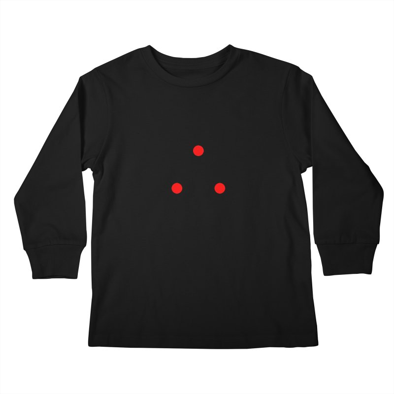 Dot Dot Dot Kids Longsleeve T-Shirt by FunctionalFantasy Artist Shop