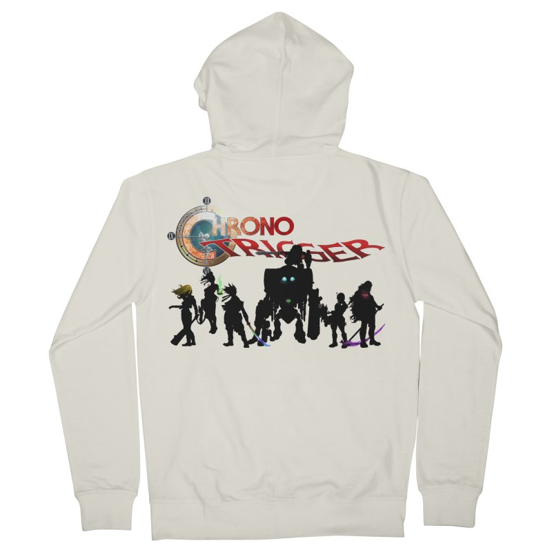 Chrono Trigger Men's French Terry Zip-Up Hoody by FunctionalFantasy Artist Shop