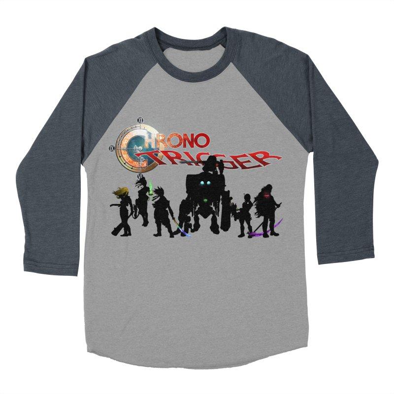Chrono Trigger Men's Baseball Triblend Longsleeve T-Shirt by FunctionalFantasy Artist Shop