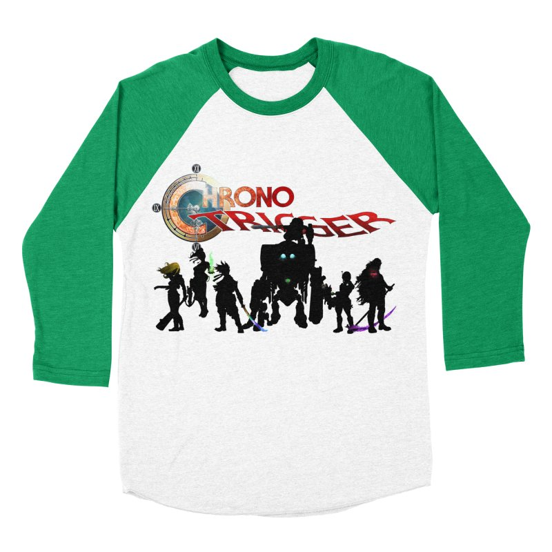 Chrono Trigger Men's Baseball Triblend Longsleeve T-Shirt by FunctionalFantasy Artist Shop