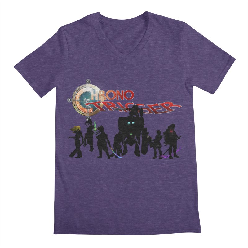 Chrono Trigger Men's Regular V-Neck by FunctionalFantasy Artist Shop