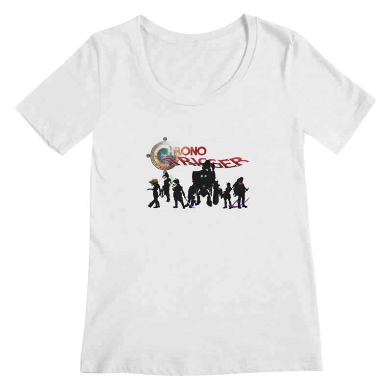 Chrono Trigger Women's Regular Scoop Neck by FunctionalFantasy Artist Shop