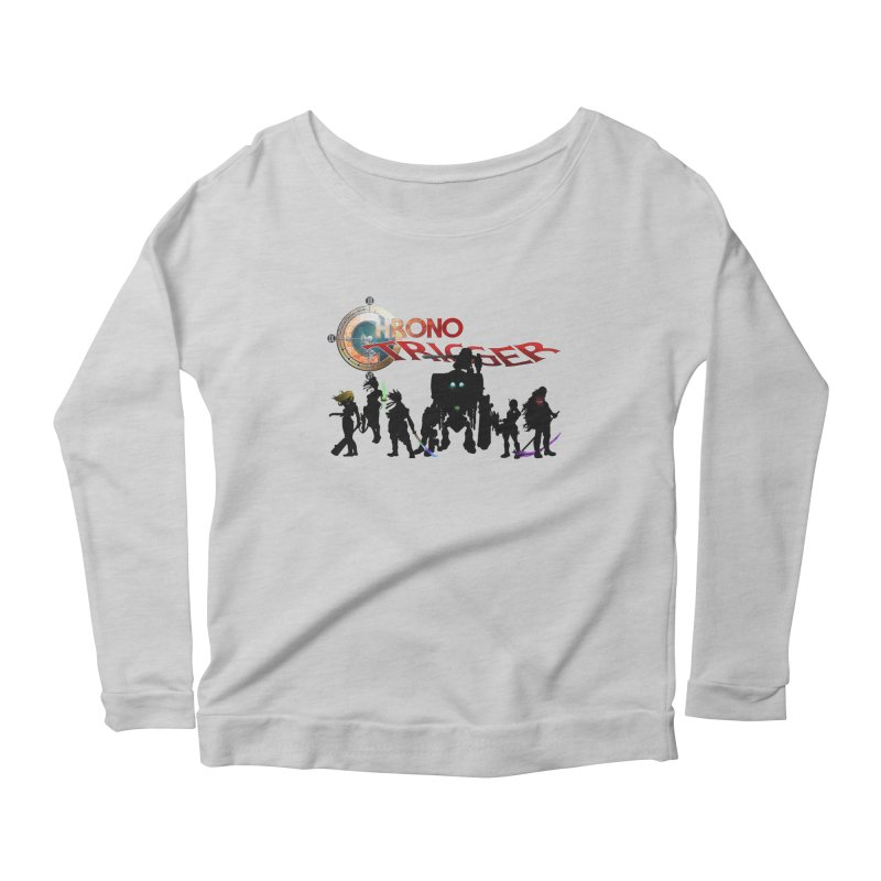 Chrono Trigger Women's Scoop Neck Longsleeve T-Shirt by FunctionalFantasy Artist Shop