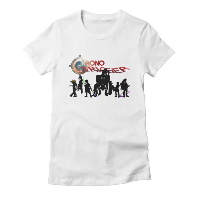 Chrono Trigger Women's Fitted T-Shirt by FunctionalFantasy Artist Shop