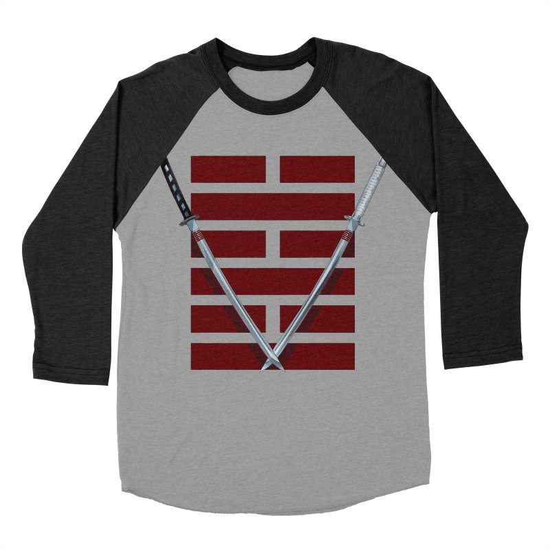 Arashikage Men's Baseball Triblend Longsleeve T-Shirt by FunctionalFantasy Artist Shop