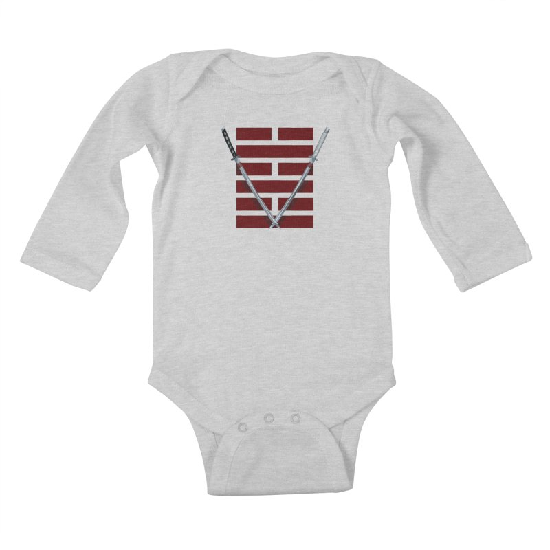 Arashikage Kids Baby Longsleeve Bodysuit by FunctionalFantasy Artist Shop