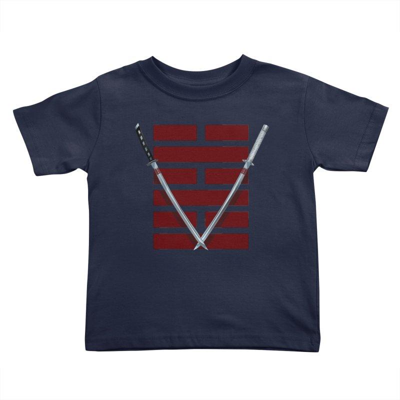 Arashikage Kids Toddler T-Shirt by FunctionalFantasy Artist Shop