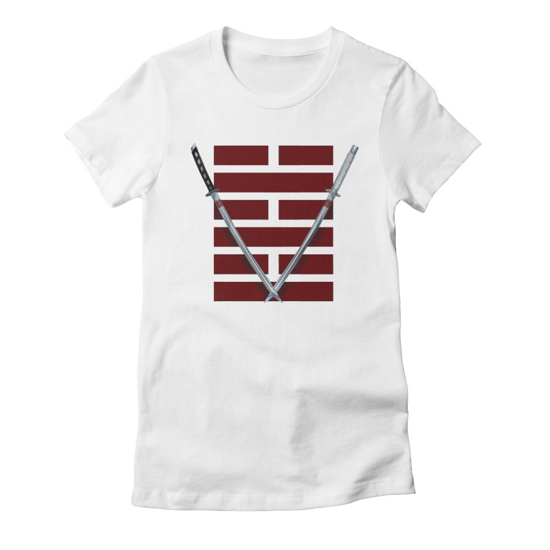 Arashikage Women's Fitted T-Shirt by FunctionalFantasy Artist Shop