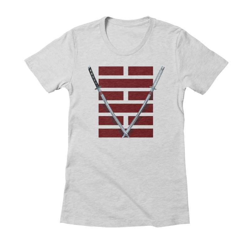 Arashikage Women's Fitted T-Shirt by FunctionalFantasy Artist Shop