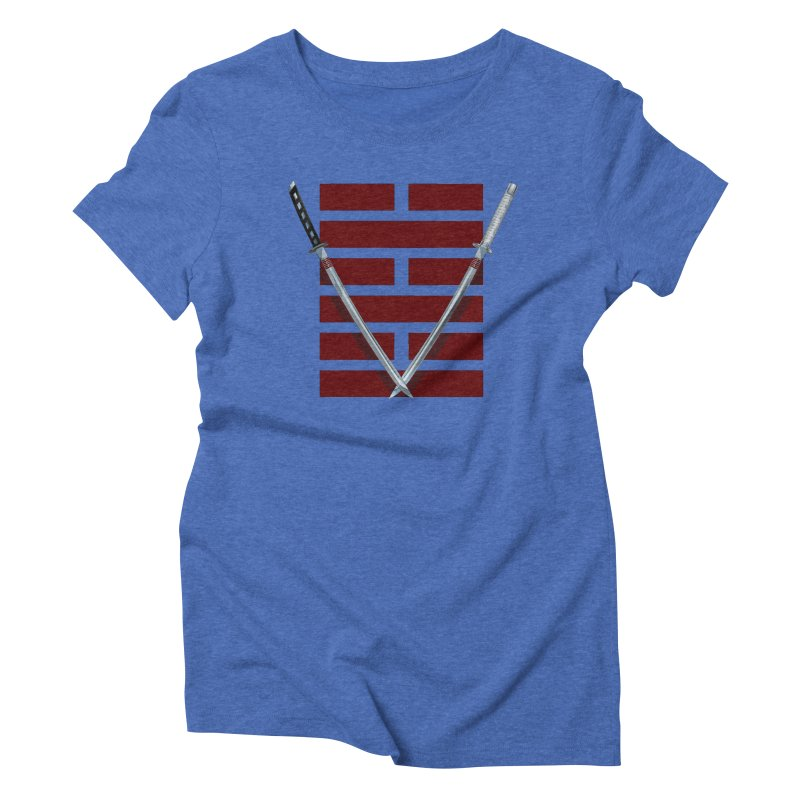 Arashikage Women's Triblend T-Shirt by FunctionalFantasy Artist Shop