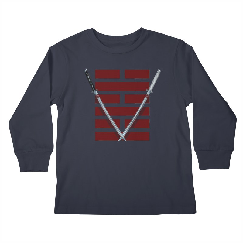 Arashikage Kids Longsleeve T-Shirt by FunctionalFantasy Artist Shop