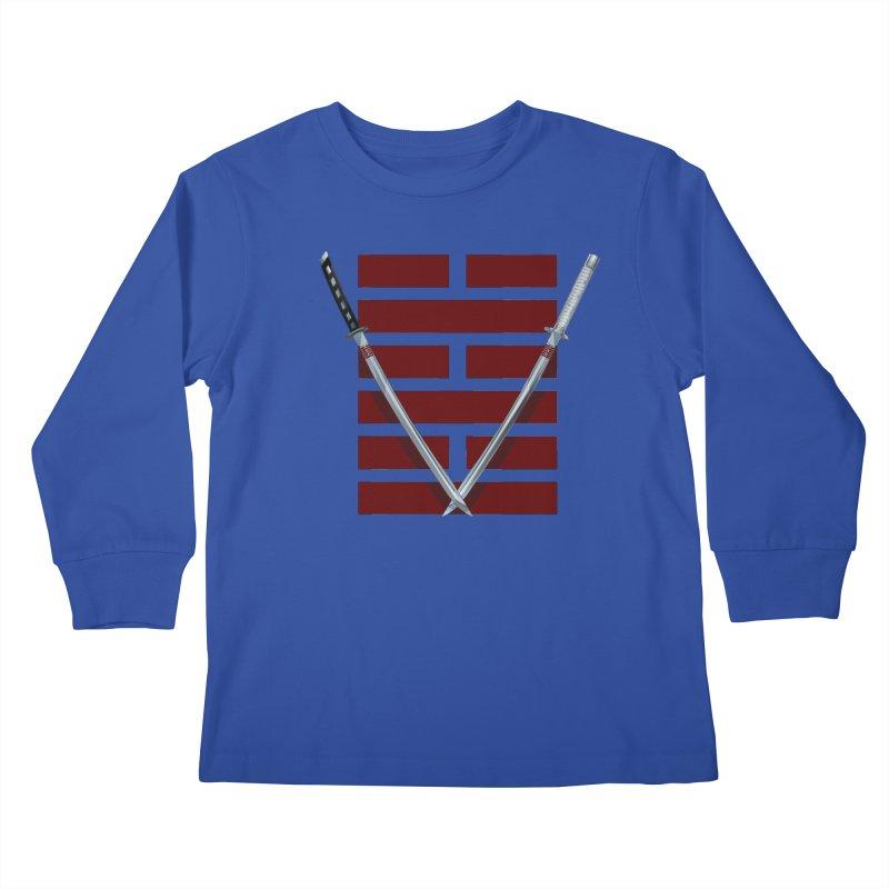 Arashikage Kids Longsleeve T-Shirt by FunctionalFantasy Artist Shop