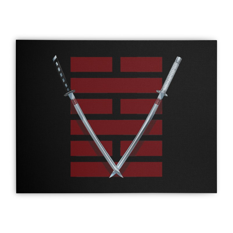 Arashikage Home Stretched Canvas by FunctionalFantasy Artist Shop