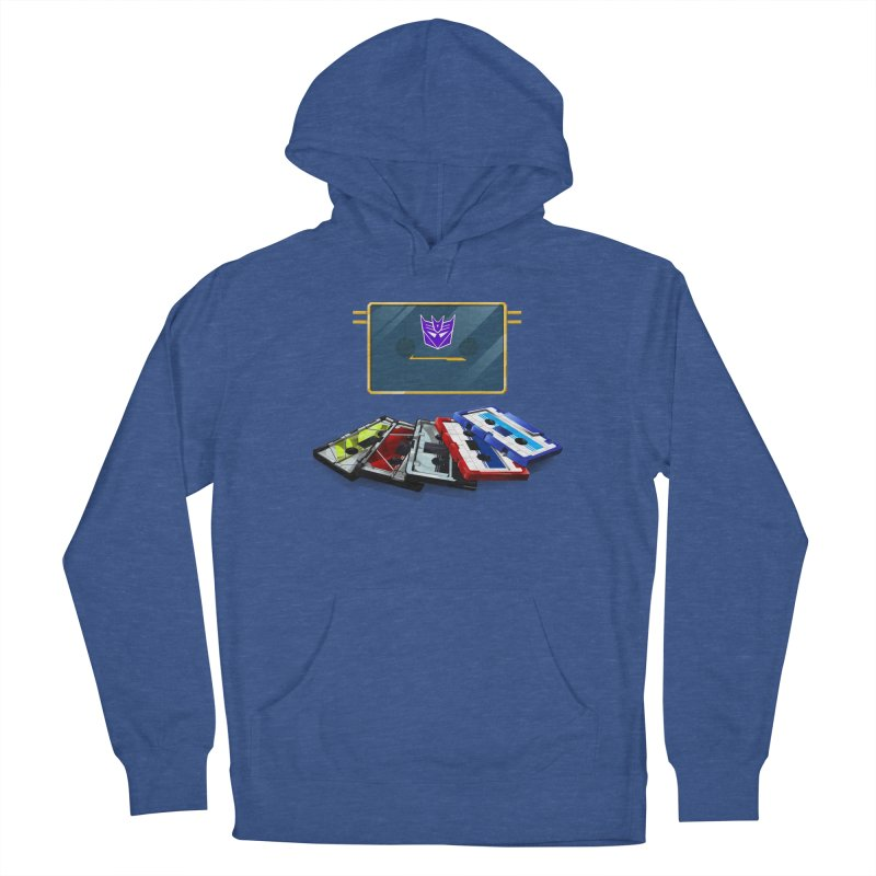 Soundwave Men's French Terry Pullover Hoody by FunctionalFantasy Artist Shop