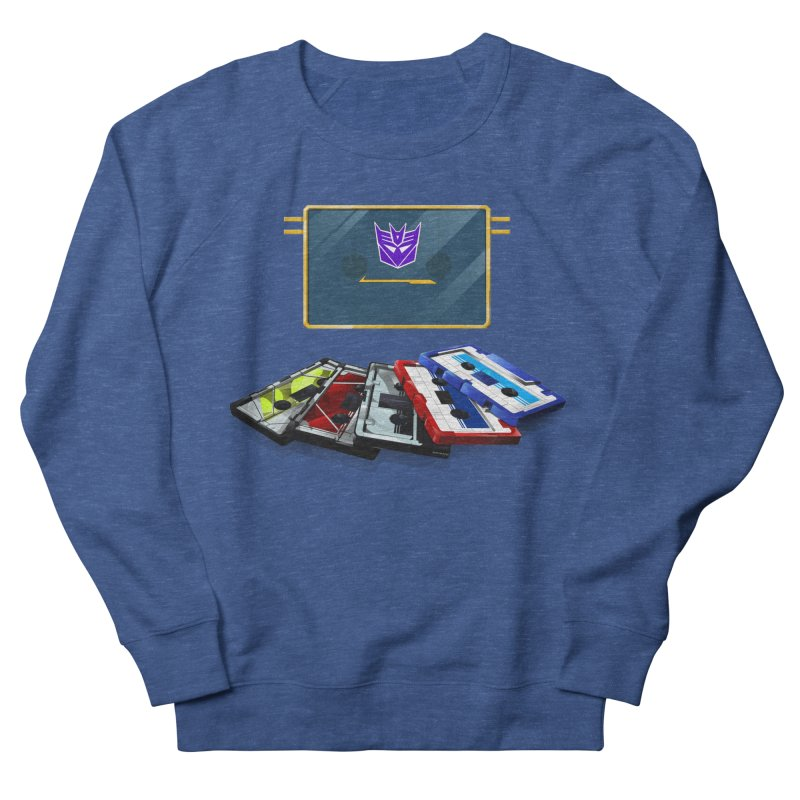Soundwave Men's French Terry Sweatshirt by FunctionalFantasy Artist Shop