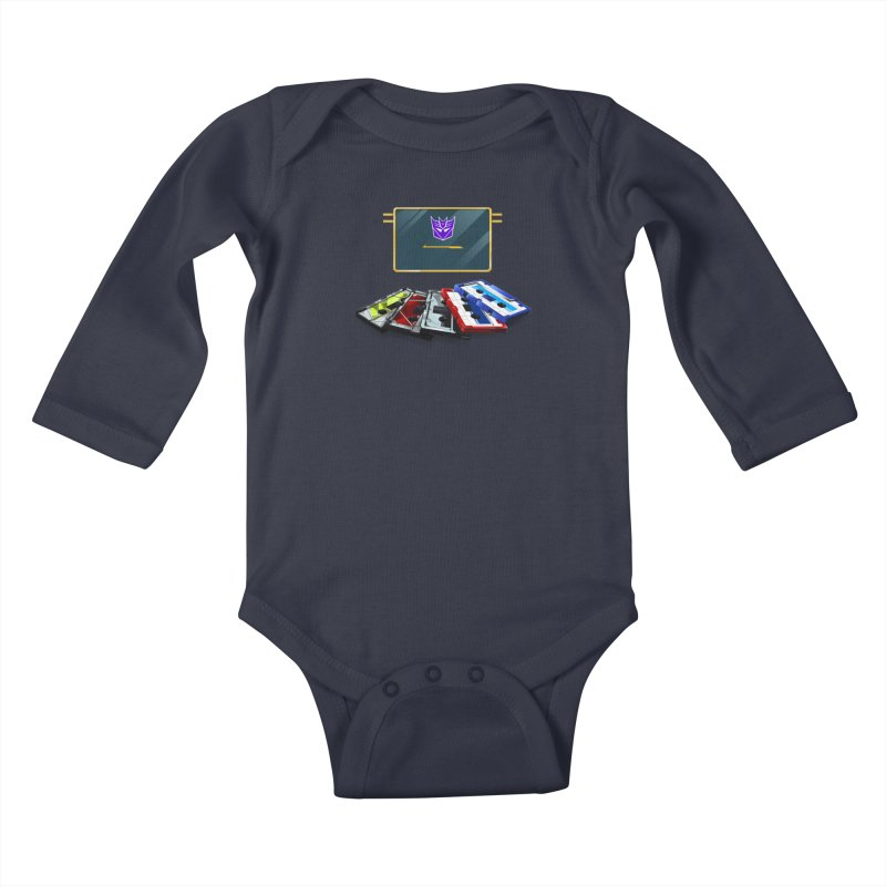 Soundwave Kids Baby Longsleeve Bodysuit by FunctionalFantasy Artist Shop