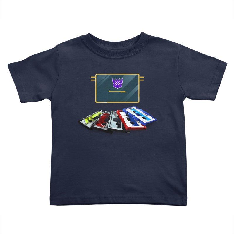 Soundwave Kids Toddler T-Shirt by FunctionalFantasy Artist Shop