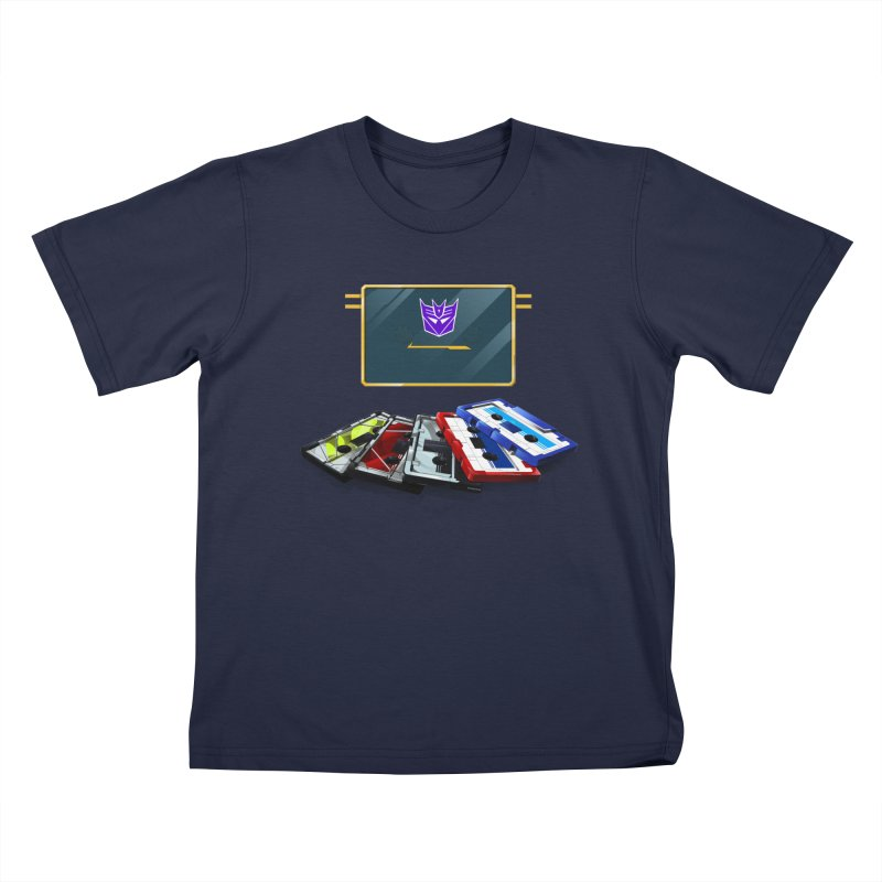 Soundwave Kids T-Shirt by FunctionalFantasy Artist Shop