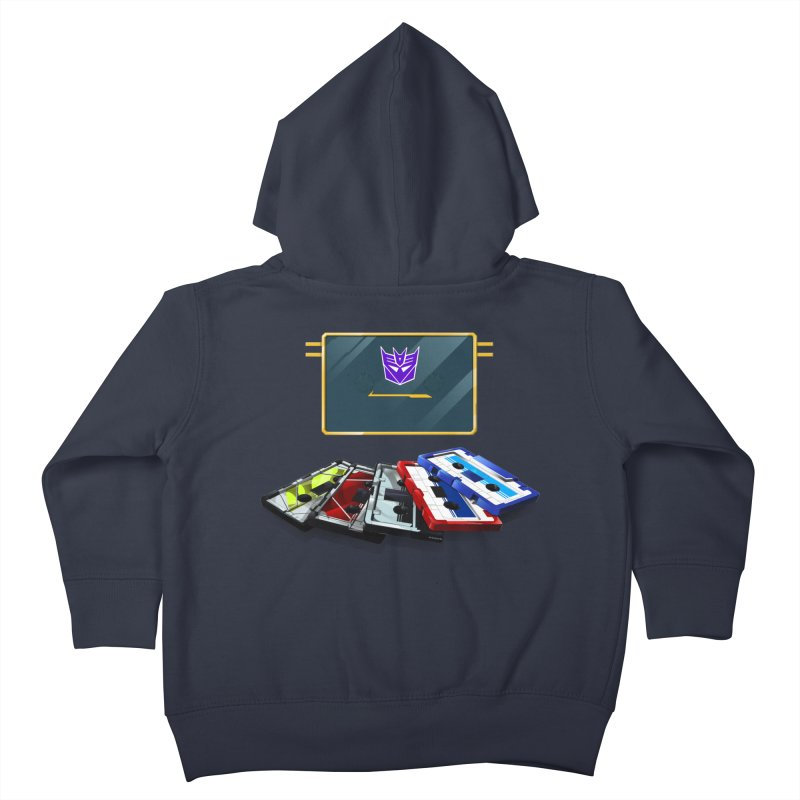 Soundwave Kids Toddler Zip-Up Hoody by FunctionalFantasy Artist Shop