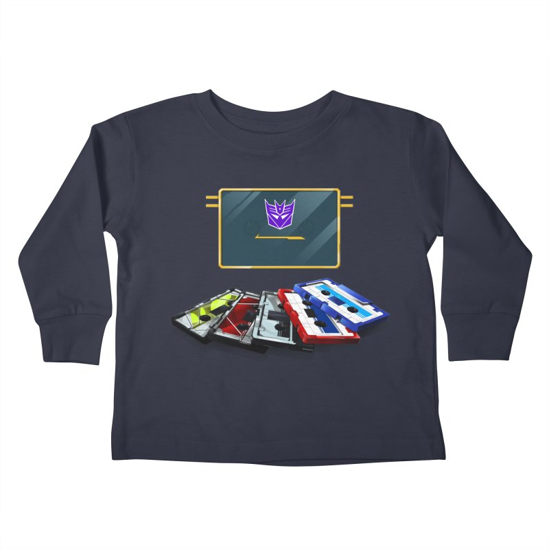 Soundwave Kids Toddler Longsleeve T-Shirt by FunctionalFantasy Artist Shop