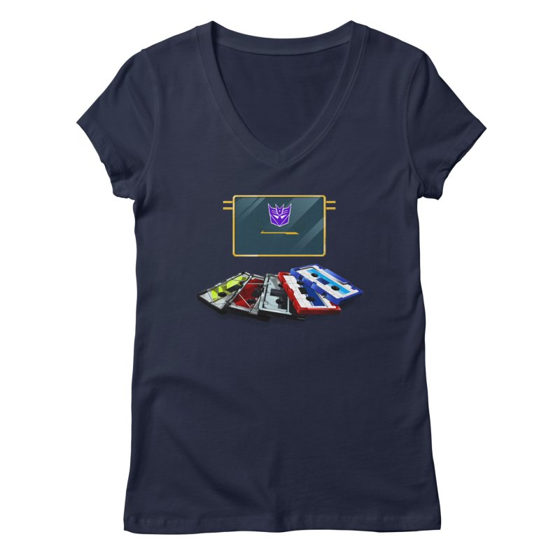Soundwave Women's Regular V-Neck by FunctionalFantasy Artist Shop