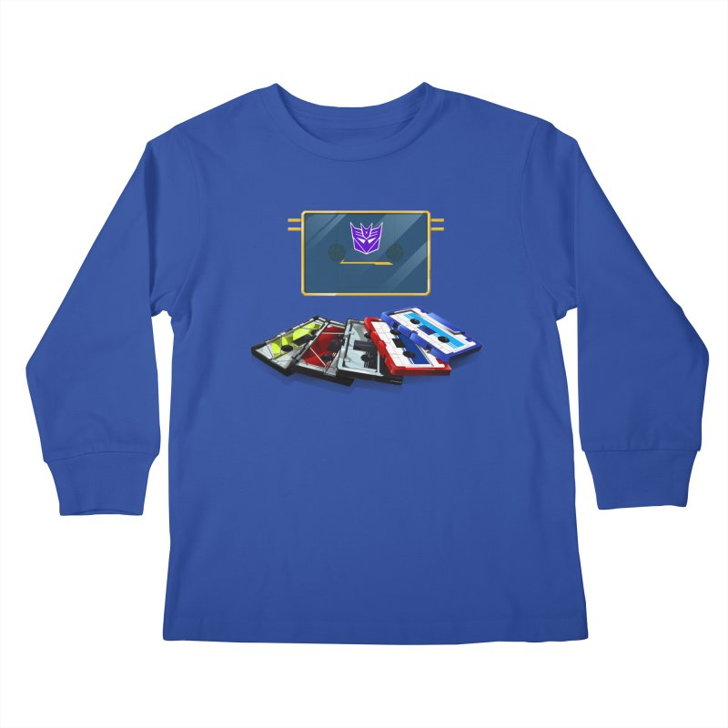 Soundwave Kids Longsleeve T-Shirt by FunctionalFantasy Artist Shop