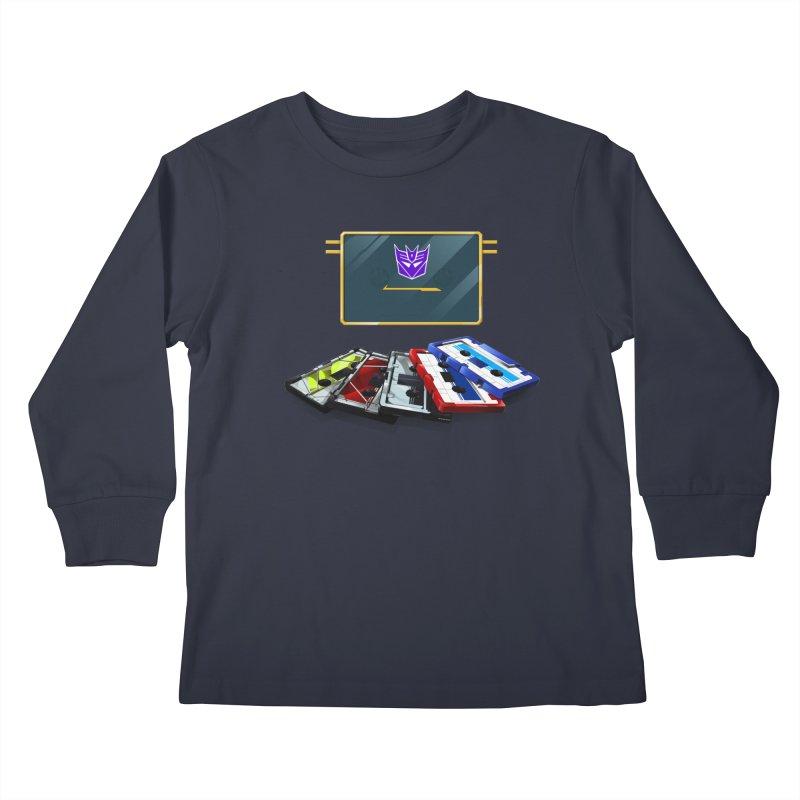 Soundwave Kids Longsleeve T-Shirt by FunctionalFantasy Artist Shop