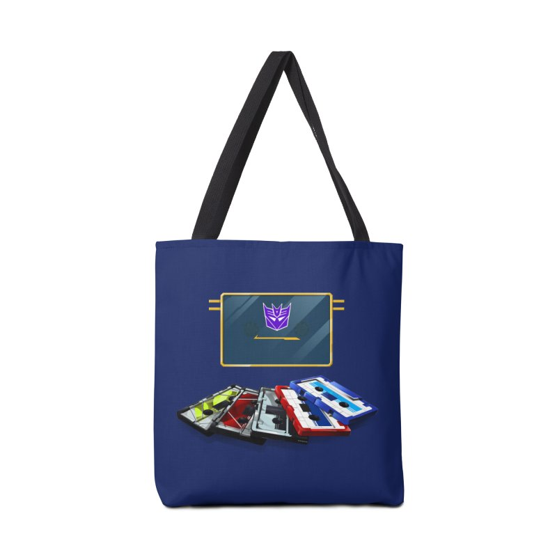 Soundwave Accessories Tote Bag Bag by FunctionalFantasy Artist Shop