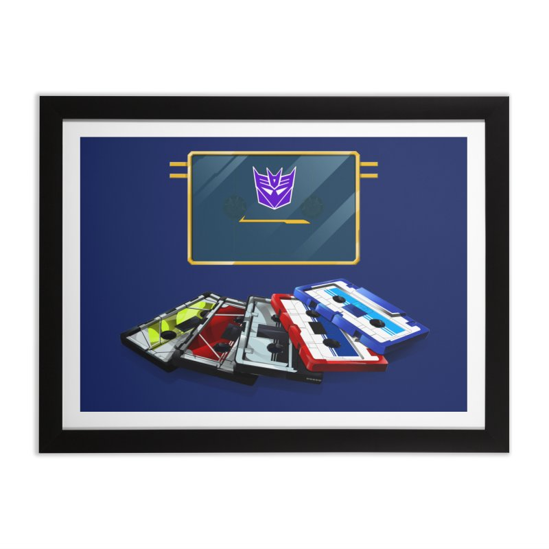 Soundwave Home Framed Fine Art Print by FunctionalFantasy Artist Shop