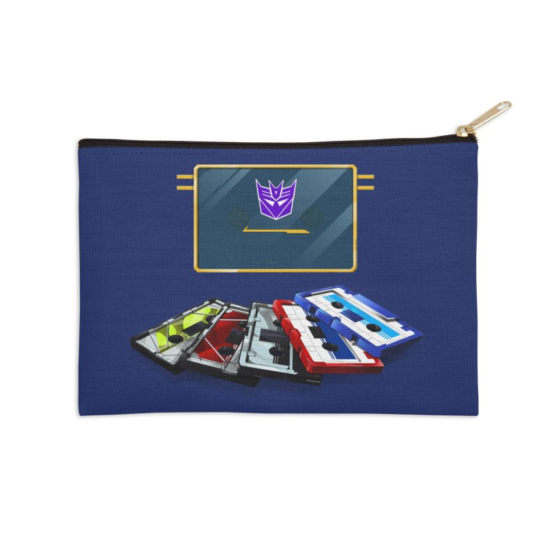 Soundwave Accessories Zip Pouch by FunctionalFantasy Artist Shop